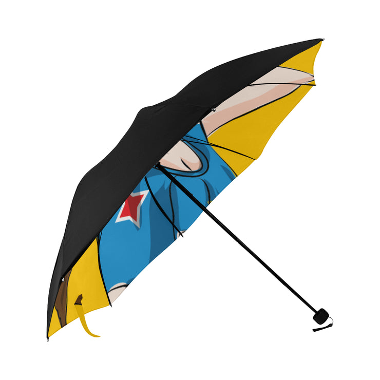 Aruba Foldable Umbrella (Underside Printing) Yellow