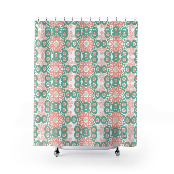 Tranquil Shower Curtain print