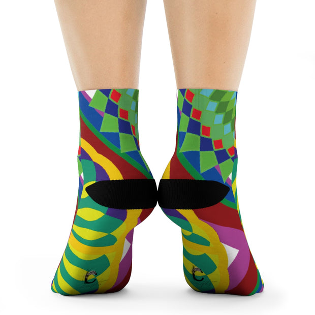 The Hipster Crew Socks
