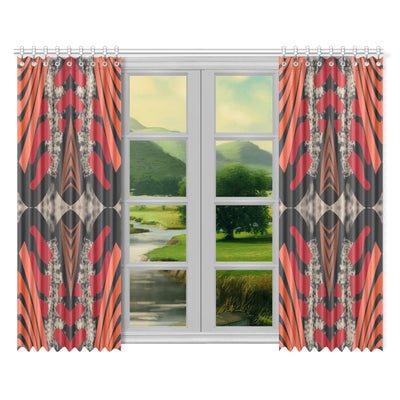 "Sassy Window Curtains 52""x84""(Two Pieces)"