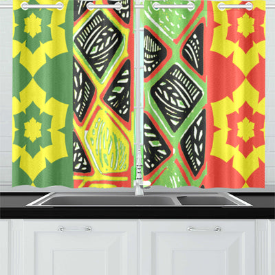 Hopeful Kitchen Curtain 26'' X 39''(2 Pieces)