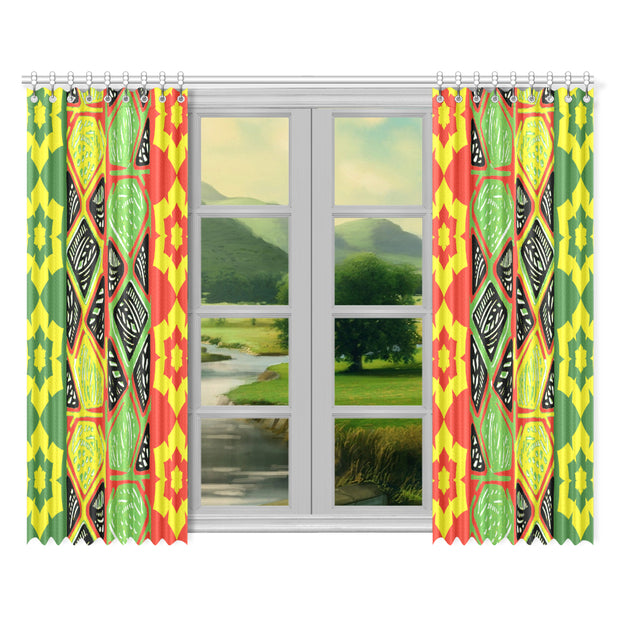 "hopeful Window Curtain 52""x84""(Two Pieces)"