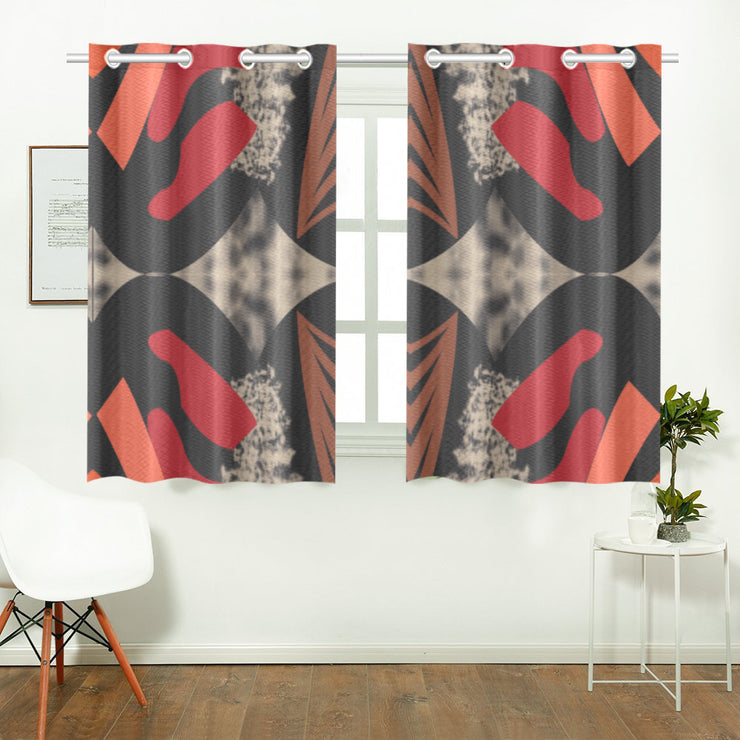 sassy Kitchen Curtain 26'' X 39''(2 Pieces)