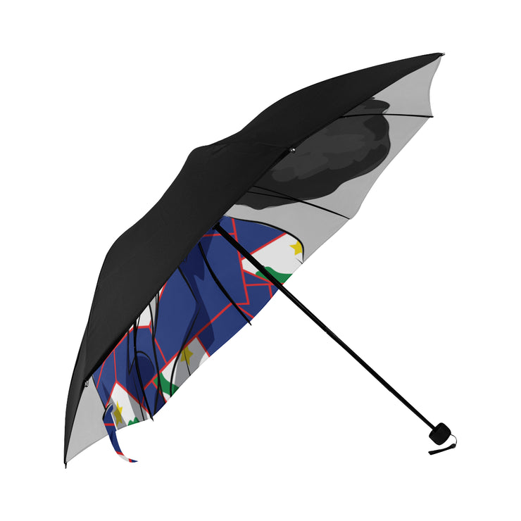 St.Eustatius Anti-UV Foldable Umbrella (Underside Printing)