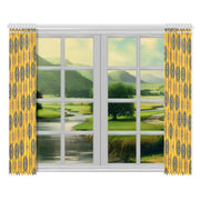 "mellow Window Curtain 52""x84""(Two Pieces)"