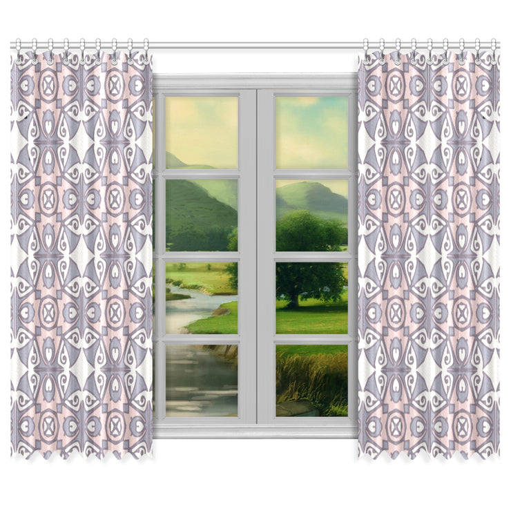 "Idyllic Window Curtain 50""x84""(Two Piece)"