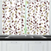 apologetic  Kitchen Curtain 26'' X 39''(2 Pieces)