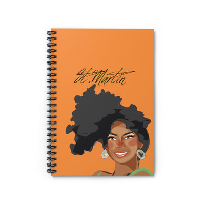 St.Martin Spiral Notebook - Ruled Line