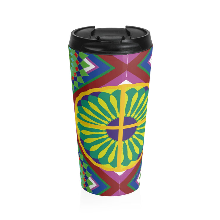 The Hipster Travel Mug print