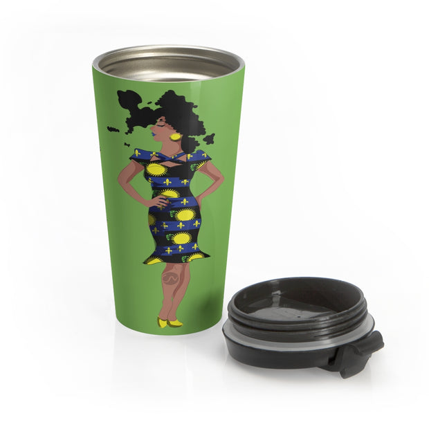 Guadeloupe Travel Mug
