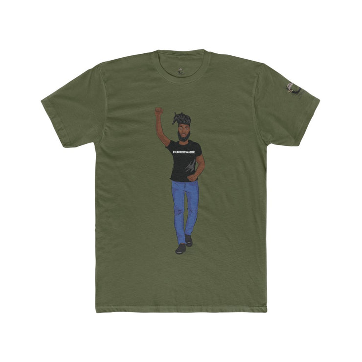 American BLM Male Cotton Tee 2