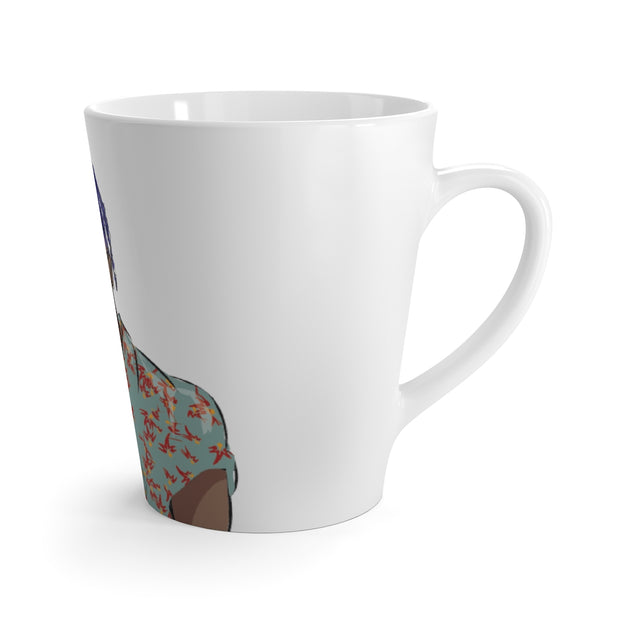 The Afropunk Latte mug