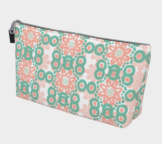 Tranquil makeup pouch