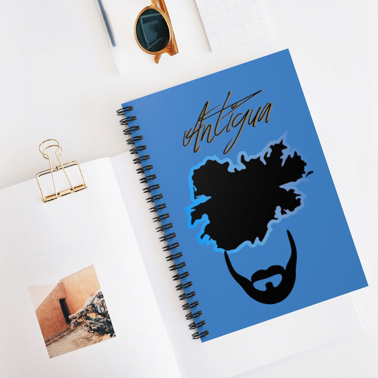 Antigua Spiral Notebook Male - Ruled Line