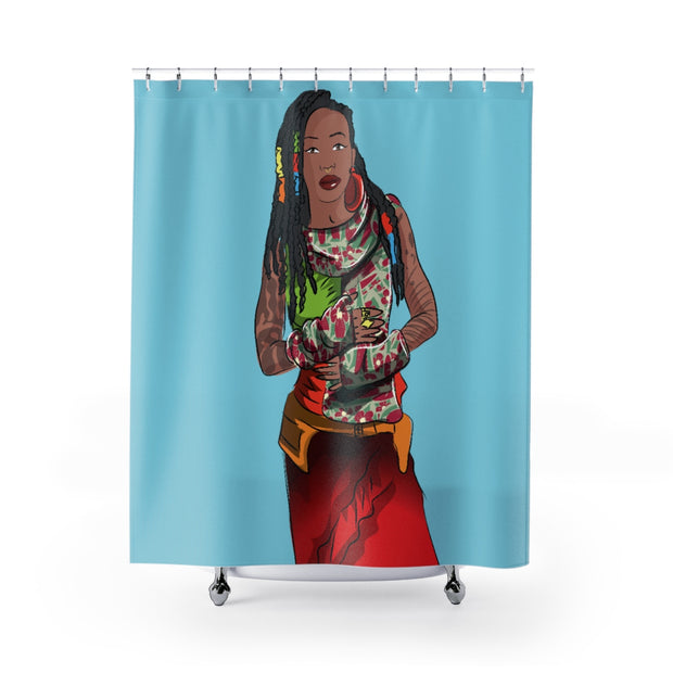 Hopeful Shower Curtain