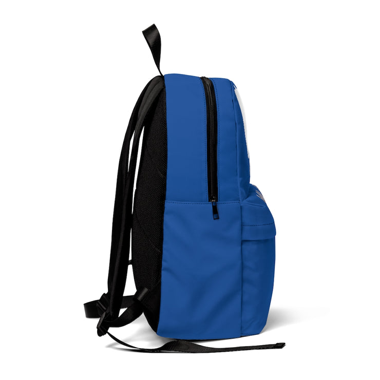 Haitian backpack Male white hair