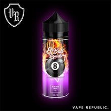 8 Ball Lquids - Aloevera Grape: A tantalizing combination of juicy grapes blended to perfection with the touch of aloe from the Arabian Peninsula to give you that sense of complete satisfaction. Served chilled to keep you cool.