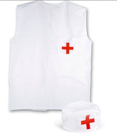 Doctors Apron & Hat Children's Dress Up Set - Haut Monde