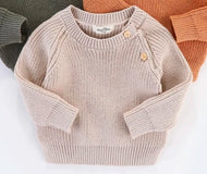 Frankie Knitted Jumper - Cream - Haut Monde