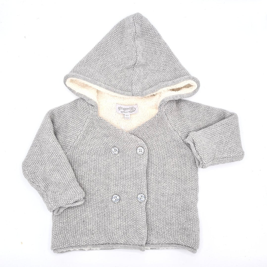 Gingerlilly - Lined Jacket - Grey - Haut Monde