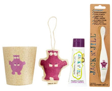 Load image into Gallery viewer, Jack 'N' Jill Hippo Tooth Gift Pack - Blackcurrant - Haut Monde