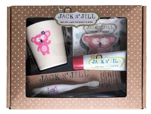 Jack 'N' Jill Koala Tooth Gift Pack - Strawberry - Haut Monde