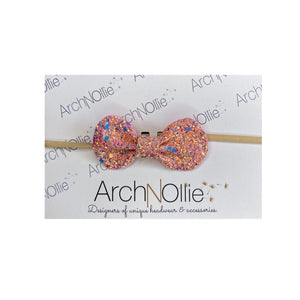 Lady Glinda Peach Hairband - Haut Monde