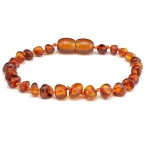 Nature's Child Amber Bracelet - Cognac - Haut Monde