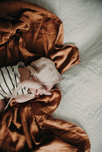 Load image into Gallery viewer, The Essential Swaddle Range - Rusted Mustard - Haut Monde