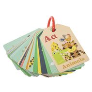 Tiger Tribe - ABC Animal Flash Cards - Haut Monde