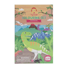 Load image into Gallery viewer, Tiger Tribe Colouring Set - Dinosaur - Haut Monde