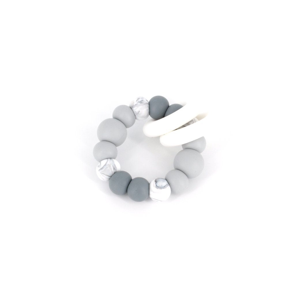 TRIO TEETHER IN GREY OMBRE - Haut Monde