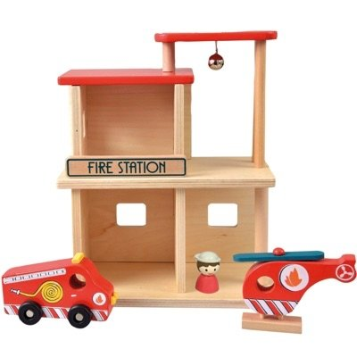 Wooden Fire Station - Haut Monde