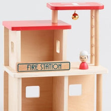 Load image into Gallery viewer, Wooden Fire Station - Haut Monde