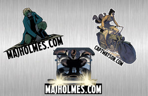 Major Holmes Sticker Pack #2 PRE-ORDER