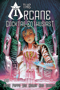 SIGNED Print Copy of THE ARCANE COCKTAIL ENTHUSIAST #2