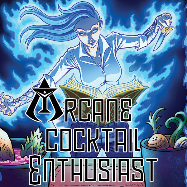 Arcane Cocktail Enthusiast #1 Digital Edition