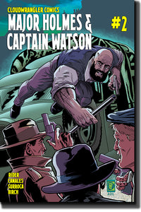 "Major Holmes & Captain Watson #2 Print Comic ""Brick Series"" alt-cover"