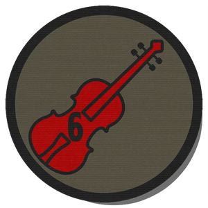 6th S.I.S. Cloth Uniform Patch