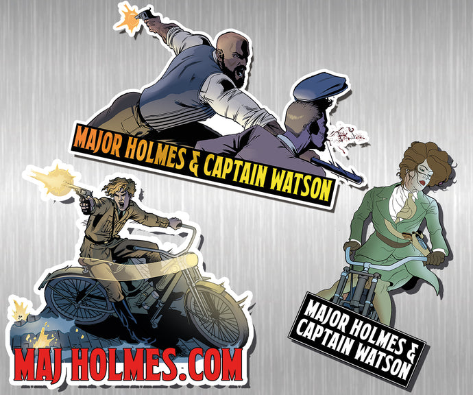 Major Holmes Sticker Pack