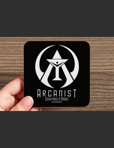 Set of 4 Arcanist Bar Coasters