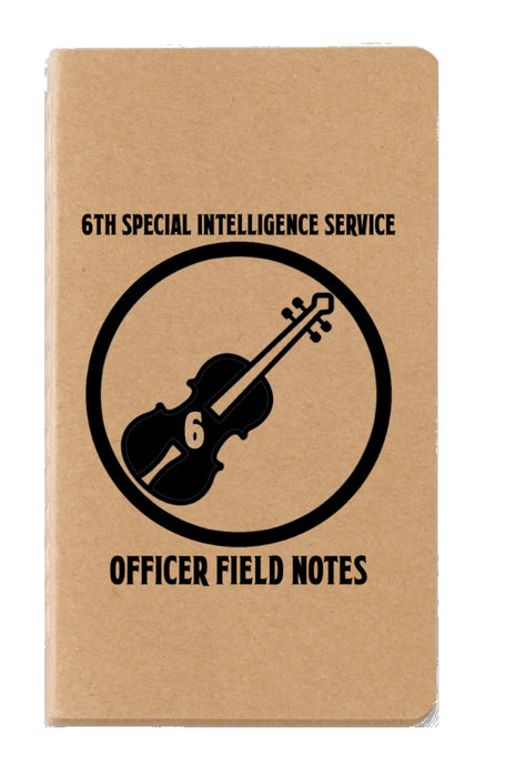6th S.I.S. Officers Field Notebook