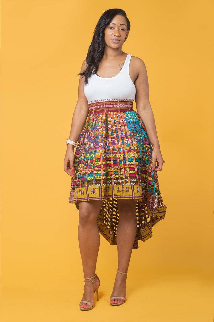 Waterfall Weaving Skirt