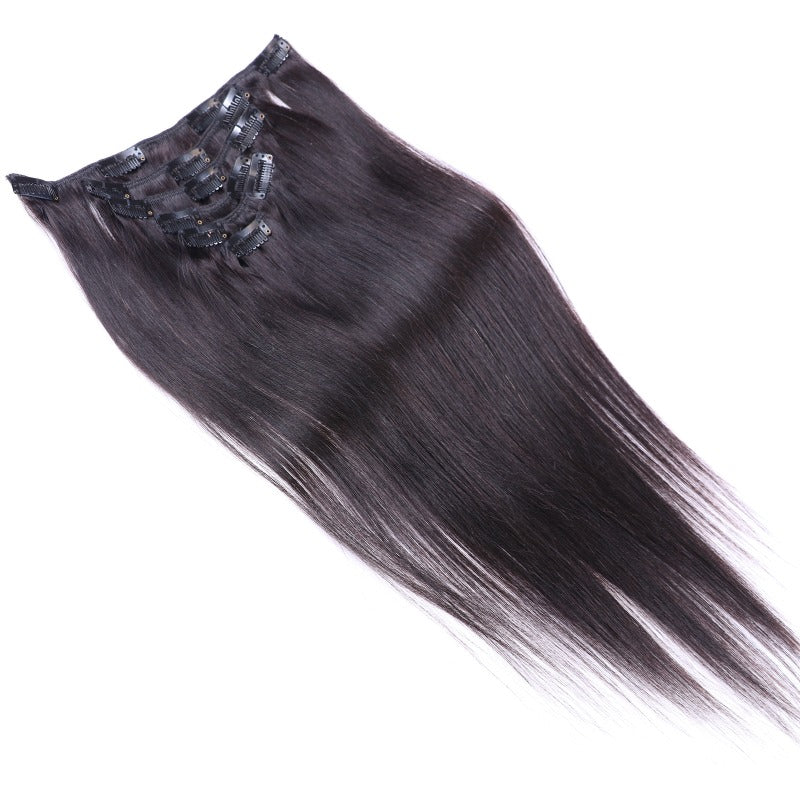 Straight Hair Clip in Extensions