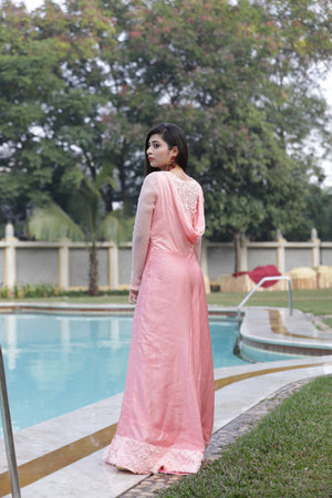 COWL GOWN - FULL SLEEVES