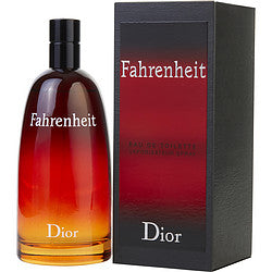 Fahrenheit By Christian Dior Edt Spray 6.8 Oz
