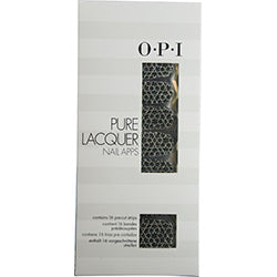 Opi By Opi Pure Lacquer Nail Apps--Geometric Sparkle--16 Pre-Cut Strips