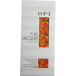 Opi By Opi Pure Lacquer Nail Apps--Peacock--16 Pre-Cut Strips