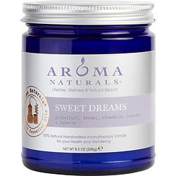 Sweet Dreams Aromatherapy By  One 3 X 3 Inch Jar Aromatherapy Candle.  Combines The Essential Oils Of Grapefruit, Fennel, Chamomile, Lavender & Oakmoss.  Burns Approx. 50 Hrs.
