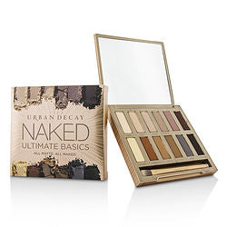 Urban Decay By Urban Decay Naked Ultimate Basics Eyeshadow Palette: 12x Eyeshadow, 1x Doubled Ended Blending And Smudger Brush ---